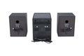 Stereoanlage mit CD, DAB+, UKW Radio, Bluetooth, AUX In und USB ROXX MC401 black