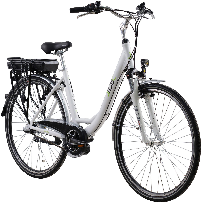 e bike elektro fahrrad city bike 28 pedelec bis 25 km h. Black Bedroom Furniture Sets. Home Design Ideas