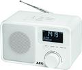 Radio UKW DAB+ Digitalradio mit Aux In und Köpfhörerausgang AEG DAB 4154 weiss