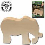 Holzrohling Elefant 001