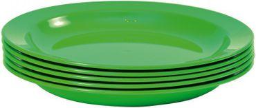 Teller Tief, 24 cm, grün