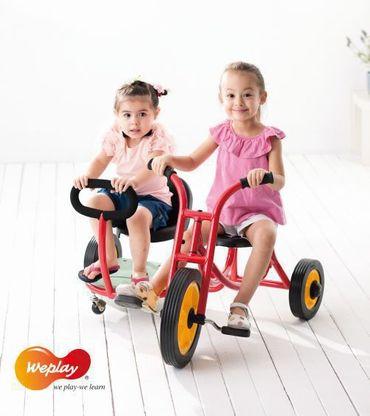 Dreirad mit Seitenwagen – Bild 2