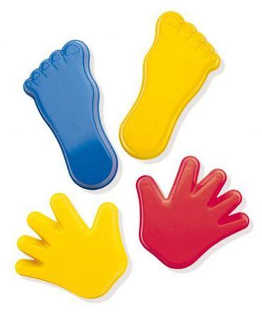 4 stück forme Hand/Fuss 12-15 Cm