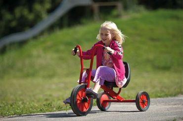 Dreirad Maxi, Verstellbarer Sattel
