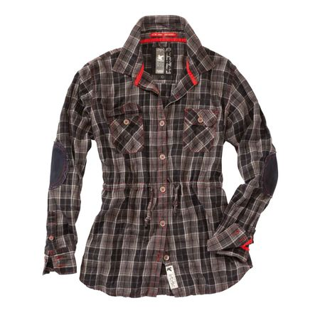 Damen Check Shirt 1/1 – Bild 4