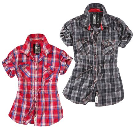 Ladies Check Shirt 1/2 – Bild 1