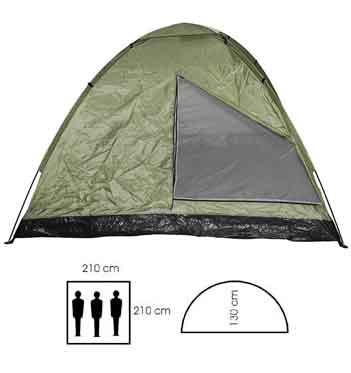 3 personen drei mann zelt moskitonetz camping bundeswehr. Black Bedroom Furniture Sets. Home Design Ideas