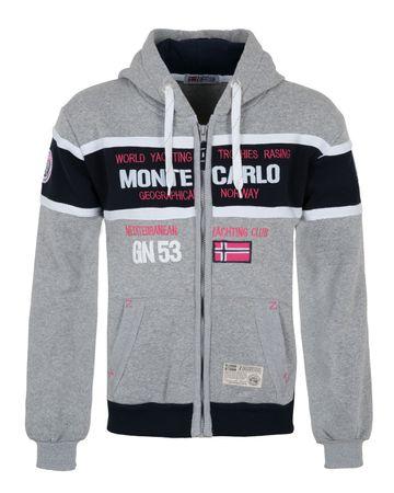 Hoodie Zipper Monte Carlo – Bild 3