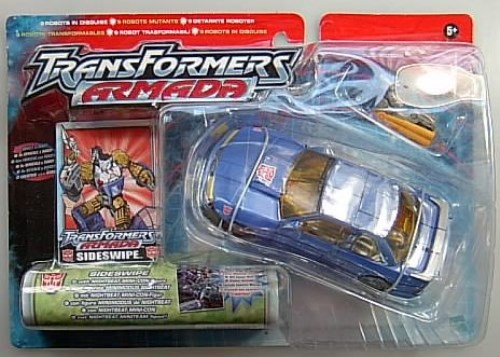 TRANSFORMERS ARMADA SIDESWIPE - NIGHTBEAT MINI-CON NEU