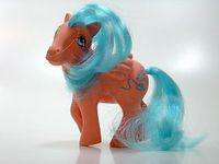 My little Pony / Mein kleines BLUEBELL CHINA - 1990 international Pony european