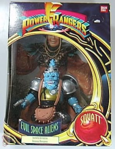 POWER RANGERS - EVIL SPACE ALIENS - SQUATT - NEUWARE