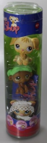 LITTLEST PET SHOP TIER #266 #267 #268 IM SET - NEUWARE
