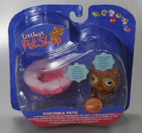 LITTLEST PET SHOP TIER #332 TIERFREUNDE AUF TOUR NEU