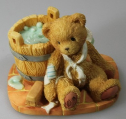 "Cherished Teddies Joshua "" Love repairs all "" 1991"