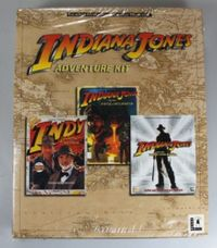INDIANA JONES ADVENTURE KIT - 3 TEILE - NEUWARE PC