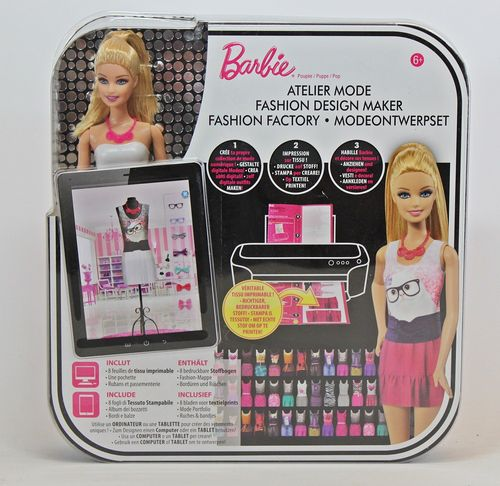 Barbie - Fashion Design Maker, Puppe mit Zubehör - CFD56