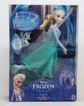 Mattel Disney Princess CBC63 - Die Eiskönigin Eisläuferin Elsa, Puppe 001