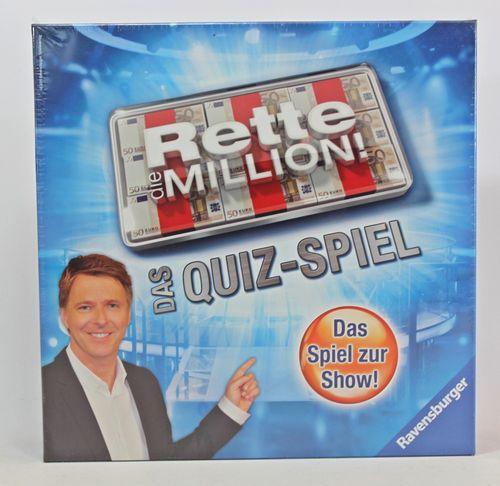 Rette die Million - Das Quiz-Spiel - Ravensburger 27201