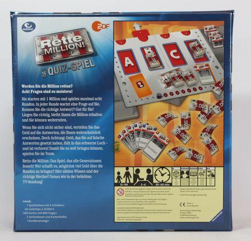 Rette die Million - Das Quiz-Spiel - Ravensburger 27201 – Bild 2
