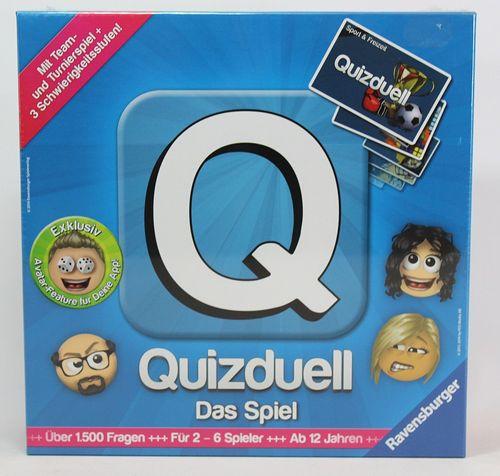 Quizduell - Das Brettspiel - Ravensburger 27207 – Bild 1