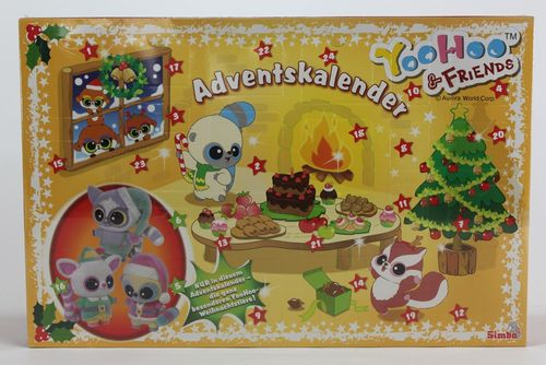 ADVENTSKALENDER YOOHOO & FRIENDS 2013  – Bild 1