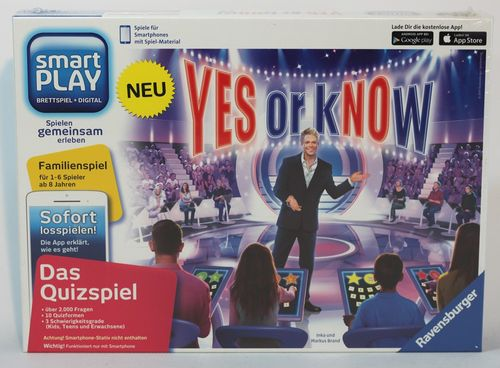 Yes or Know (Smartplay, ohne Smartphone-Stativ) - Ravensburger 26806