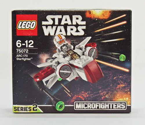 Lego Star Wars Micro Fighters 75072 - ARC-170 Starfighter