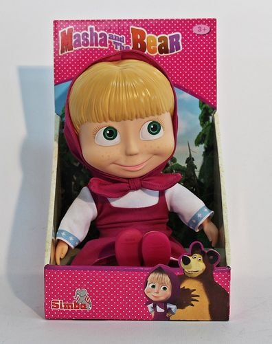 Masha und der Bär (Masha and the bear) - Puppe 109301674