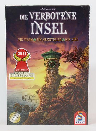 Die verbotene Insel - Schmidt Spiele 49013 – Bild 1