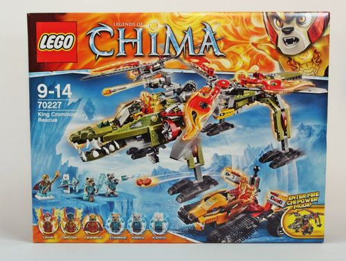 Lego Legends of Chima 70227 - König Crominus Rettung