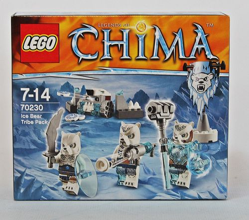 Lego Legends of Chima 70230 - Eisbärstamm-Set