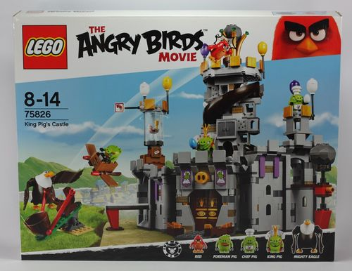 Lego Angry 75826 Angry Birds - King Pig's Castle