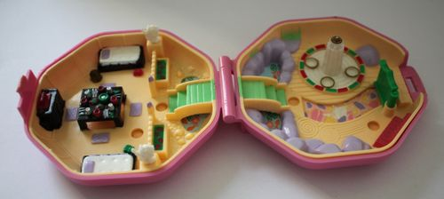 Polly Pocket Suki's Japanisches Teehaus Japanese Tea House 1990 (A-D-2) – Bild 2