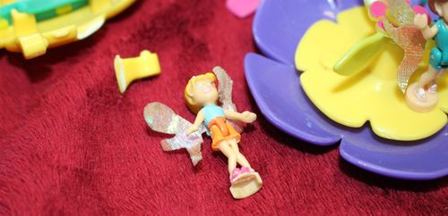 Polly Pocket Blumen Feen Welt Flugschule Flying School Flower Fairies (A-D-4) – Bild 6