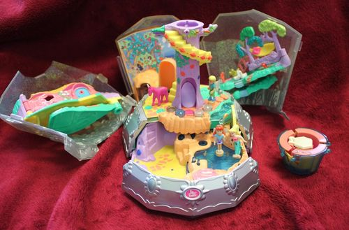Polly Pocket Diamond Wonderland Jewel Faires - ACHTUNG DEFEKT (A-D-1) – Bild 1