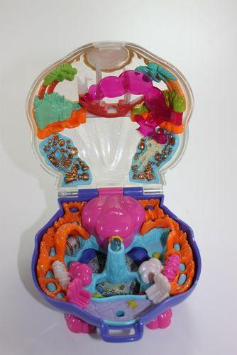 Polly Pocket Little Mermaid Kleine Meerjungfrau Bluebird 1996 (A-D-3) – Bild 1