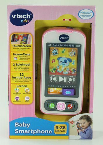 Vtech Baby Smartphone Handy rosa Neuware – Bild 1