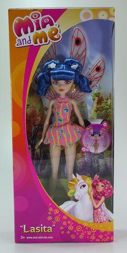 Mattel Mia and Me DHL66 Lasita Puppe Elfe