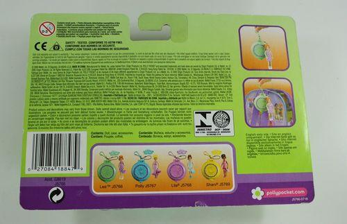 Polly Pocket Lea mit Dose - Neuware Blumenmode – Bild 2