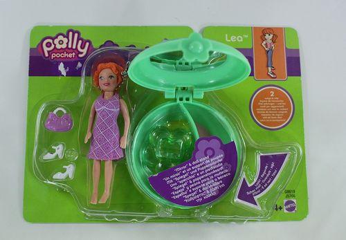 Polly Pocket Lea mit Dose - Neuware Blumenmode – Bild 3