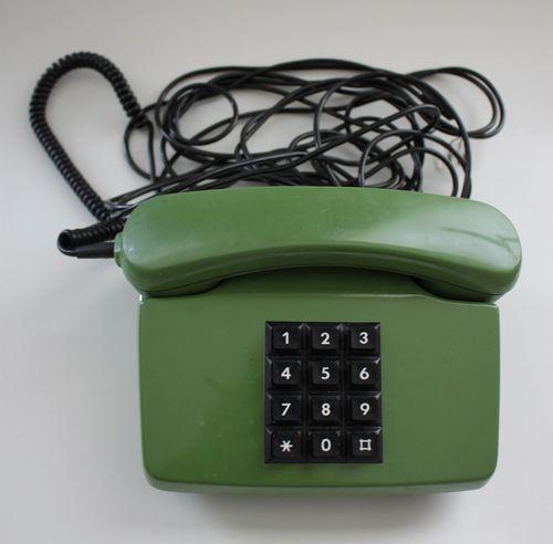 FETAP Tastentelefon Telefon grün 751-1  – Bild 2