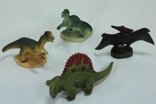 Dinosaurier Dinos ca. 7-10 cm von Bullyland - Mitgebsel für Kindergeburtstag