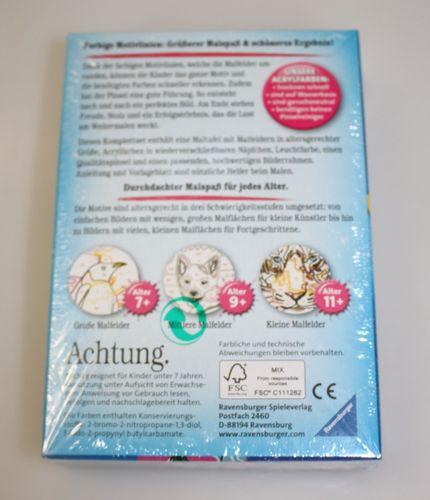 Malen nach Zahlen EINHORN von Ravensburger 8,5x12cm ab 7 Jahren - 295500 – Bild 2