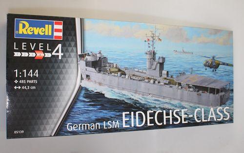 REVELL GERMAN LSM EIDECHSE-CLASS Maßstab 1:144 05139 Level 4