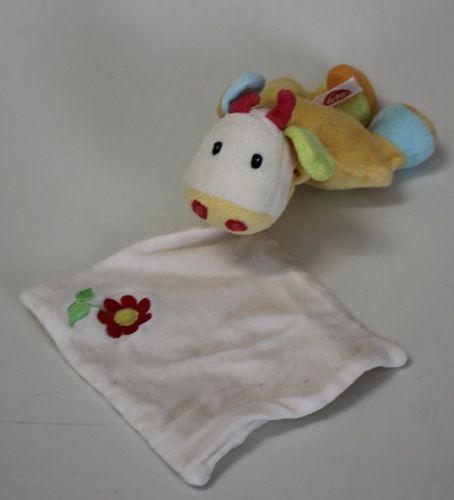 Schmusetuch Kuh Blume von Baby Fehn