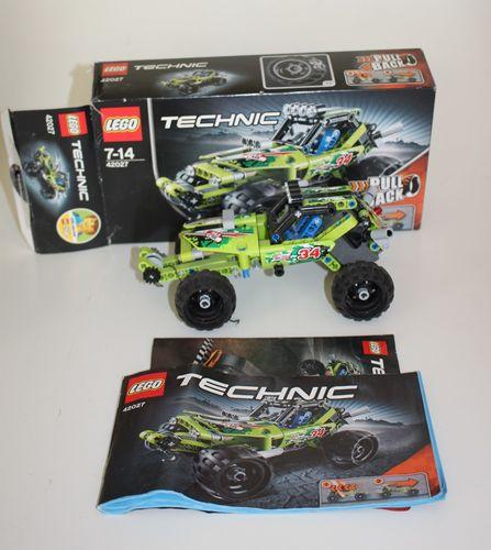 Lego Technic 42027 Wüsten-Buggy Desert Racer mit Pull Back Funktion