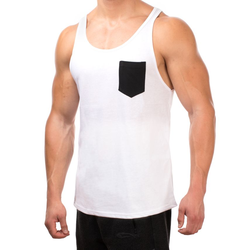 Smilodox Tank Top Pocket – Bild 17