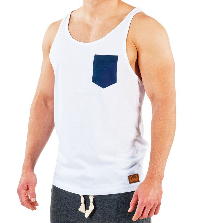 Smilodox Tank Top Pocket – Bild 5