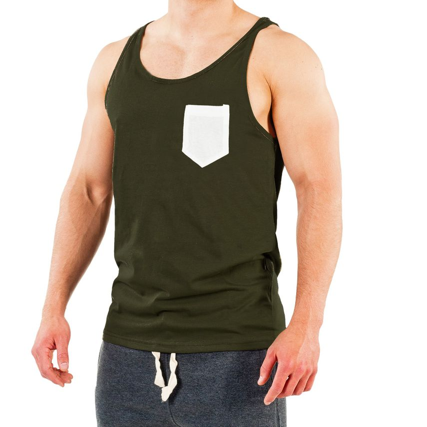 Smilodox Tank Top Pocket – Bild 10