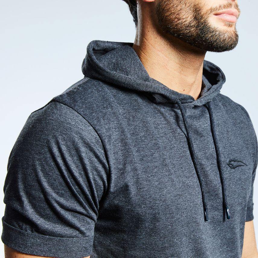 Smilodox Men's Hooded T-Shirt Pressure – Bild 8